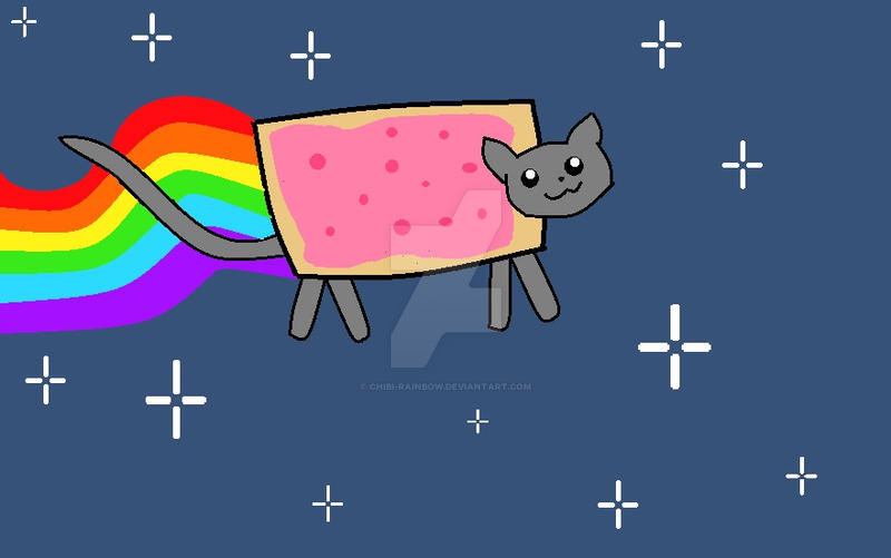 Nyan Cat by Chibi-Rainbow
