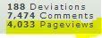 4,000 Pageviews by Chibi-Rainbow