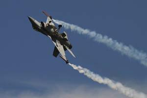 F-16 rolling christmas tree by cnv