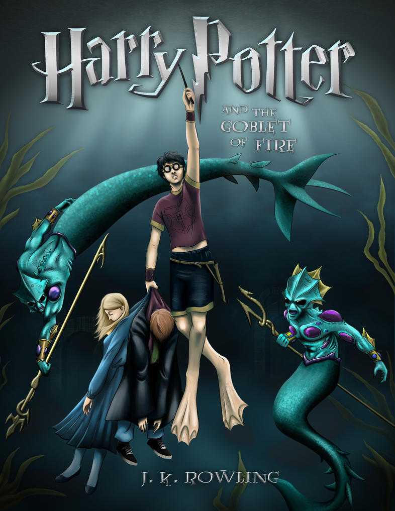 Harry Potter And The Goblet Of Fire By Shinigami1289
