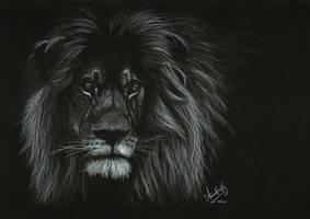 Portrait of a Lion by Shinigami1289