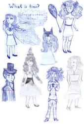 Sketchdump - Humans