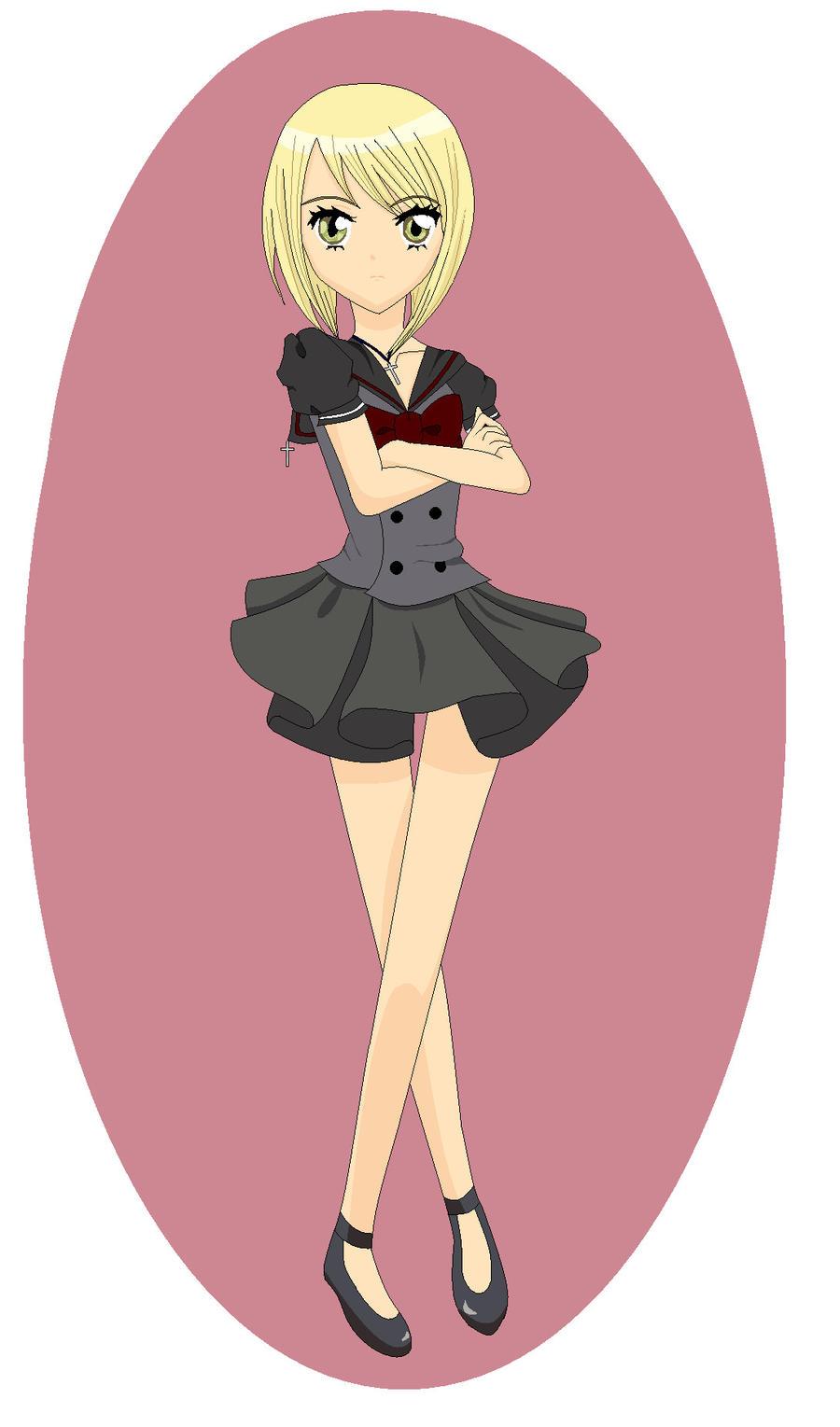 Shugo Chara OC Kuroi by animechaquita34