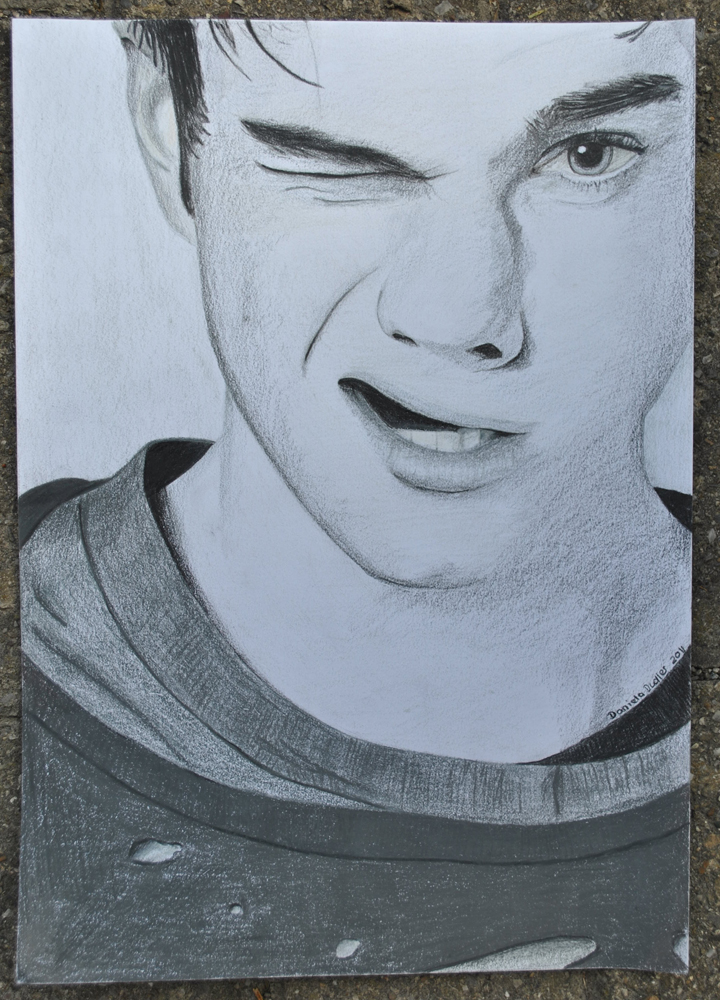 Chris Colfer VF Italy Drawing by lilmisscoolio