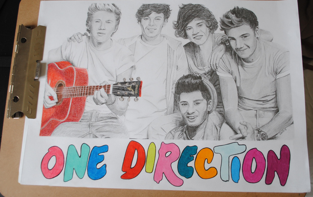 one direction dani s art corner