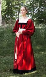 Renaissance wool dress by PetStudent
