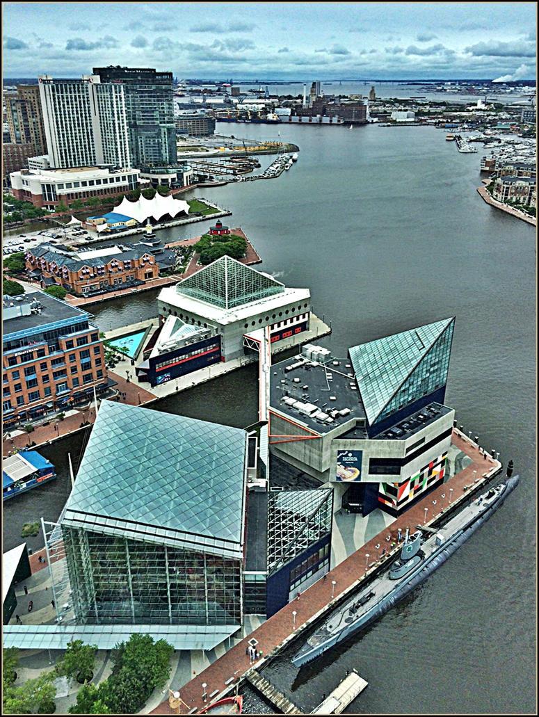 Inner Harbor, Baltimore by haloeffect1