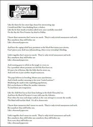 Songs and Lyrics on TheWritePlace - DeviantArt