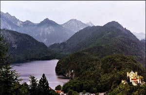 Alpsee, Bavaria by haloeffect1