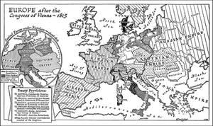 Congress of Vienna - 1815