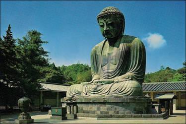 Daibutsu at Kamakura by haloeffect1
