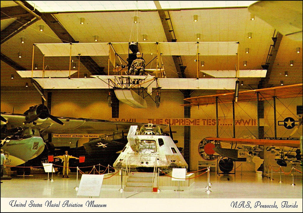U. S. Naval Aviation Museum by haloeffect1