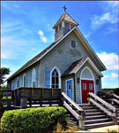 St. Andrew's By-the-Sea Episcopal Church by haloeffect1