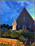 St. John the Evangelist Long Green Valley by haloeffect1