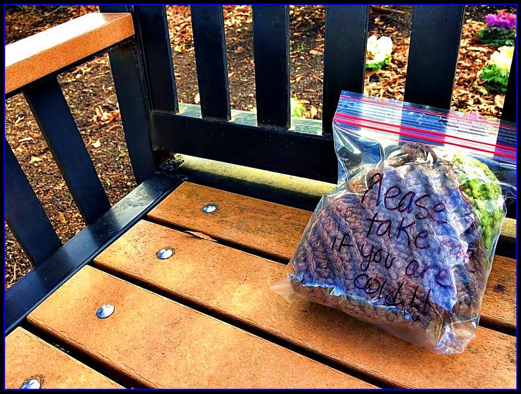 Samaritan Bench by haloeffect1
