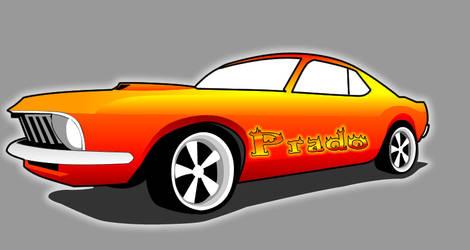 Vetor Mustang