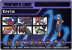 PKMN Trainer ID - Mono-Dragon Kevin by RaijinSenshi