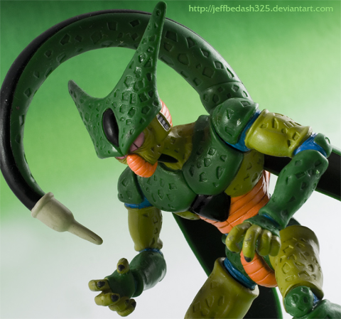 DBZ CELL Imperfect Form by jeffbedash325 on DeviantArt