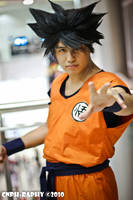 Dragonball Z Son goku cosplay by jeffbedash325