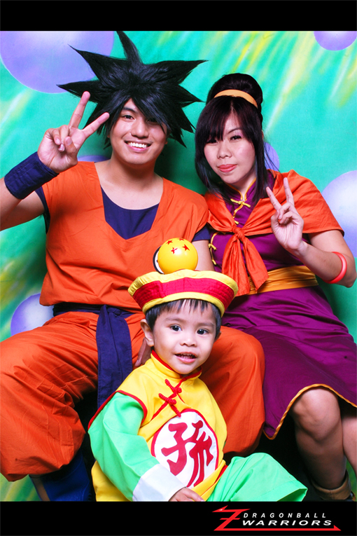 Son goku family cosplay shoot by jeffbedash325