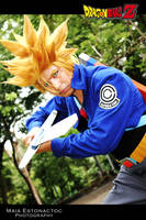 My  Super Saiyajin future Trunks Cosplay by jeffbedash325