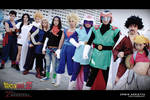 Dragonball Z cosplay Z Group