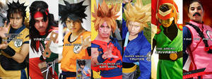 My Dragonball Z cosplay Collection by jeffbedash325