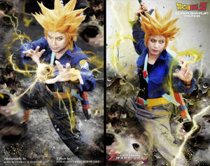Dragonball Z Trunks Cosplay