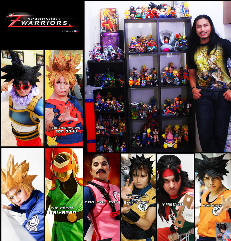 my Dragonball  Cosplay and collection by jeffbedash325