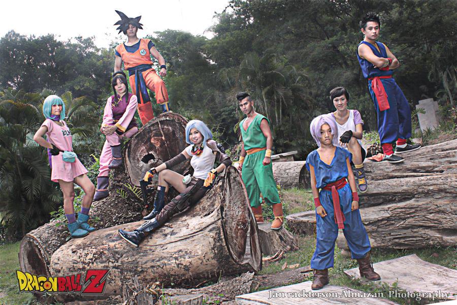 Dragonball Z warriors by jeffbedash325