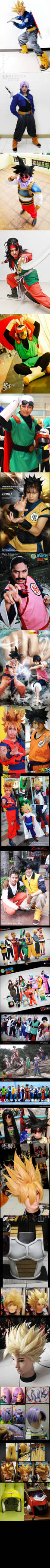 My Dragonball Cosplays and Craftings
