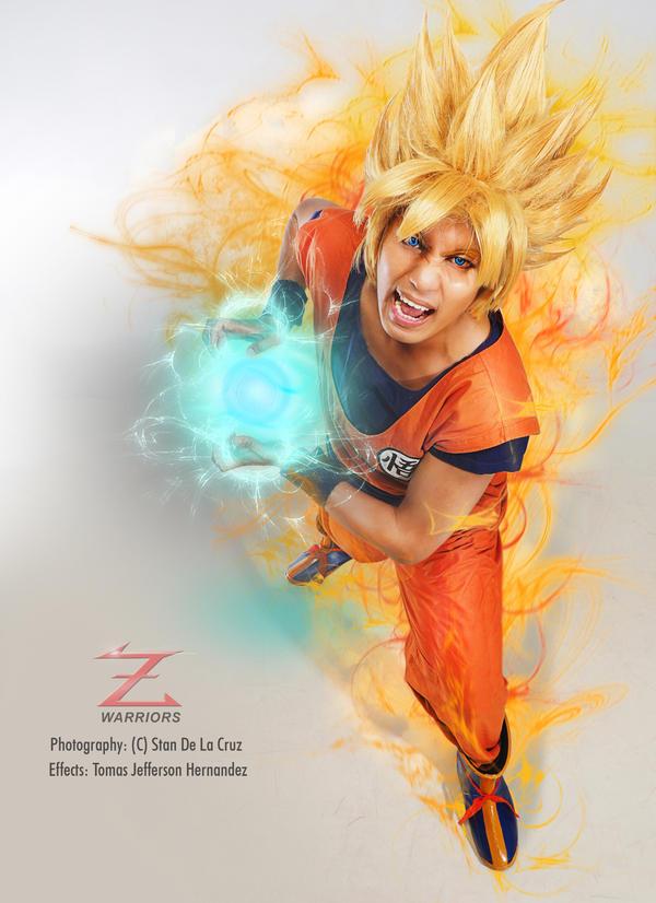 Son Goku Cosplay by jeffbedash325