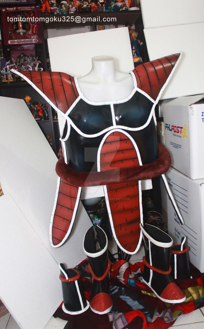 Dragonball Z Saiyan Armor by jeffbedash325