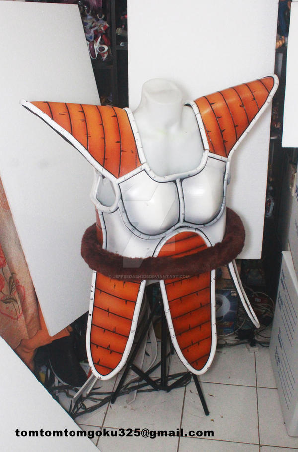 Vegeta Saiyan Armor by jeffbedash325