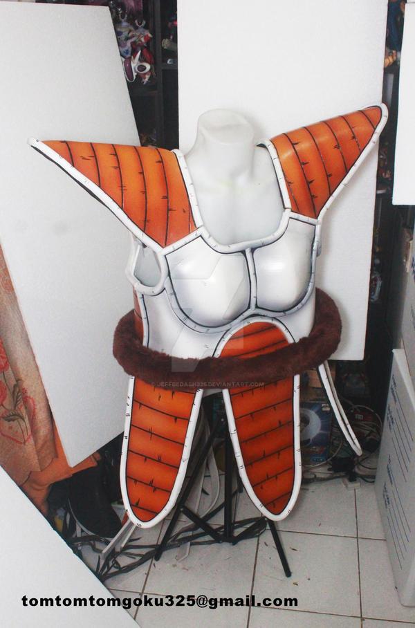Vegeta Saiyan Armor by jeffbedash325