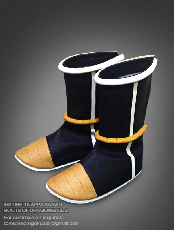Inspired Dragonball Z Saiyan Nappa Boots by jeffbedash325