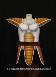 Dragonball Z Vegeta armor