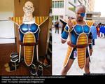 Dragonball Z Nappa SaIyan armor and Cosplay by jeffbedash325