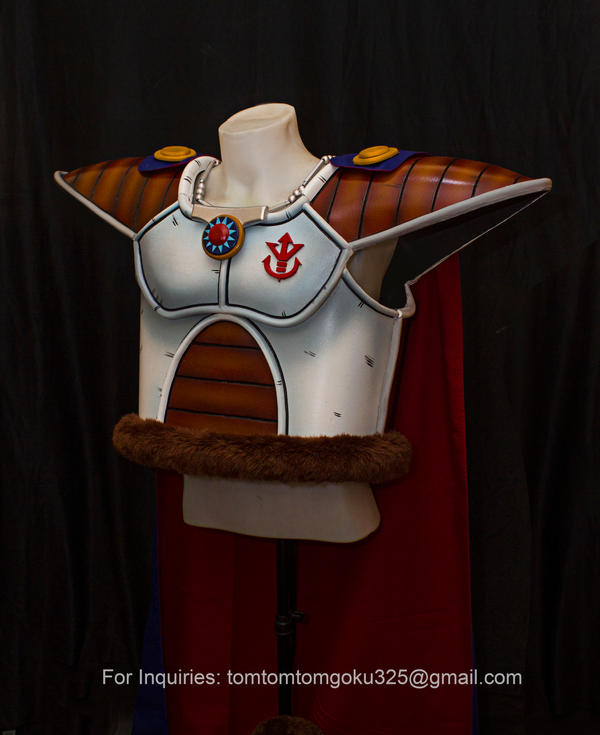 King Vegeta of Dragonball Z Costume by jeffbedash325