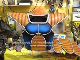 Nappa Saiyan Armor of Dragonball Z