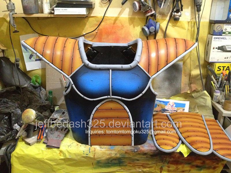 Nappa Saiyan Armor of Dragonball Z by jeffbedash325