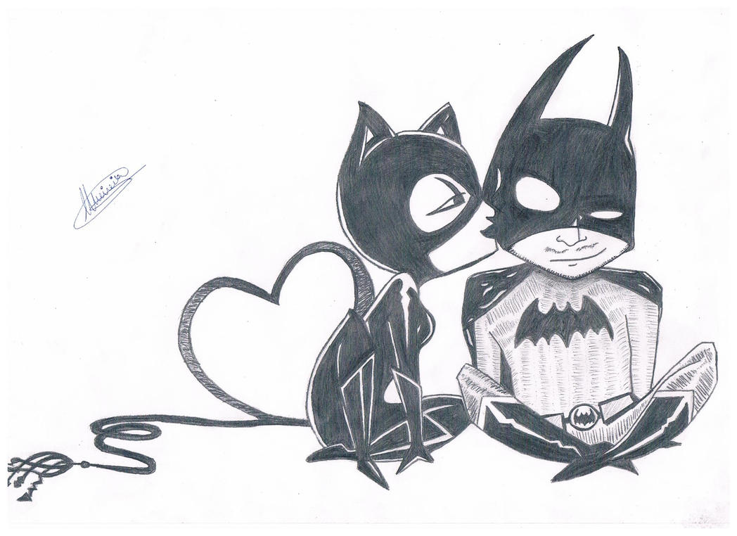 Moody - Catwoman and Batman by Envy-Moody on DeviantArt