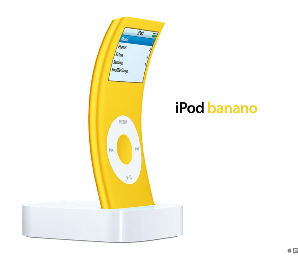 iPod banano by 5-G