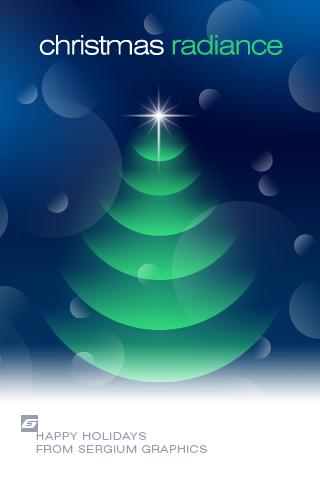 CHRISTMAS RADIANCE iPhone crop