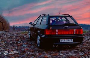 Legendary Audi RS2