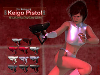 keigo pistol spread by Ayukawataur
