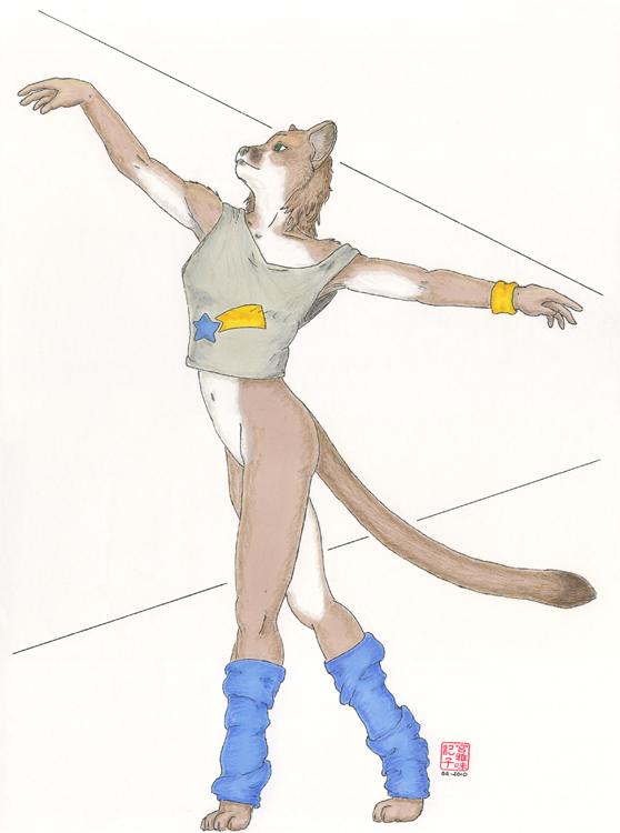 kira : bottomless dancer pract by Ayukawataur