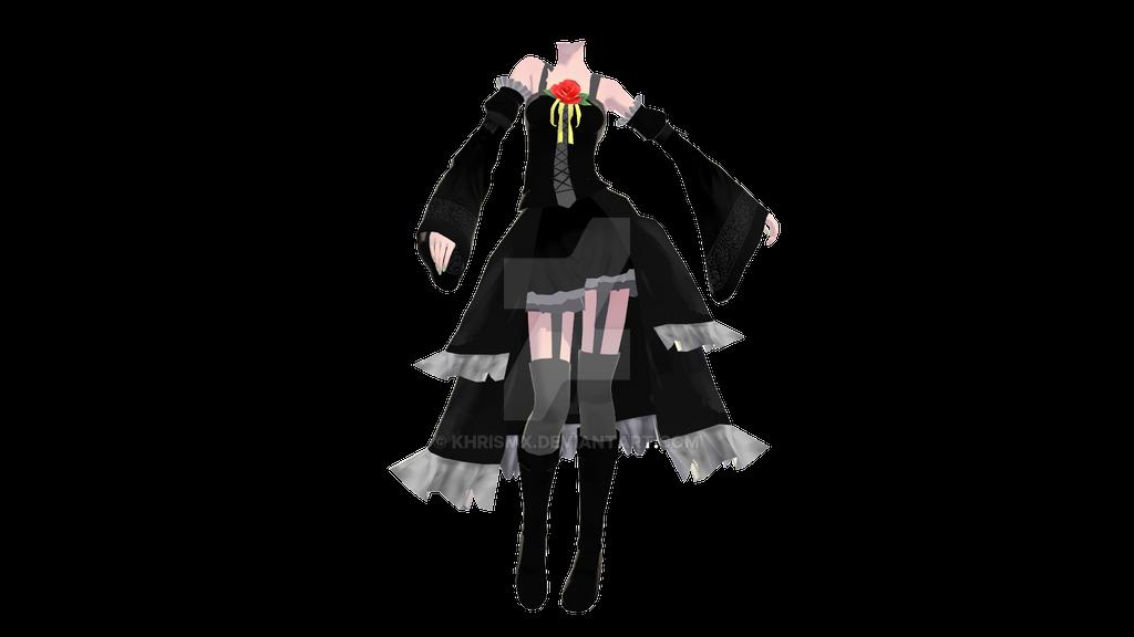 Tda Black Imitation Outfit -DL- By KhrisMx On DeviantArt