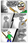 Baldi's Basics Comic - Ruler