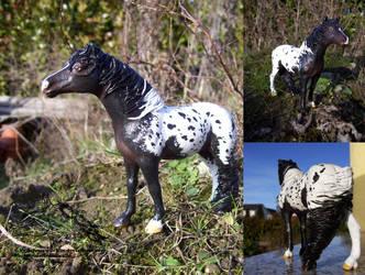 Bambi Girl - Schleich Mare cm by Schneewoelfin